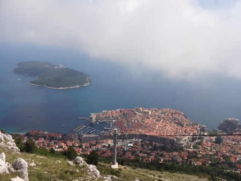 View From The Top of Dubrovnik!