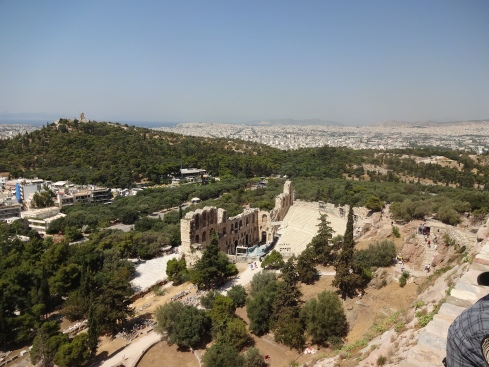 View overlooking Athens!