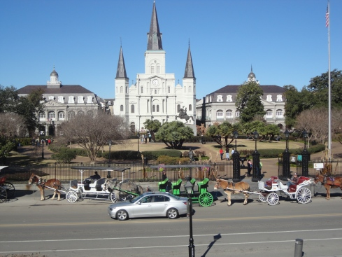 Jackson Square (Church In The Background)